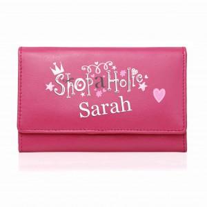Pink Shopaholic Purse