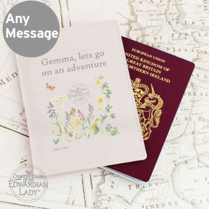 Country Diary Wild Flowers Passport Holder