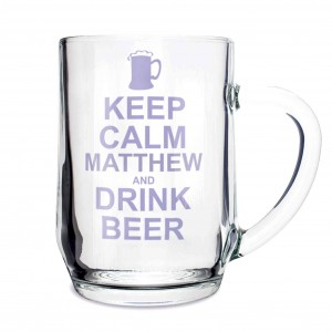 Keep Calm Drink Beer Tankard