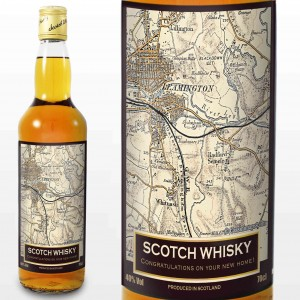 1896 - 1904 Revised New Map Whisky