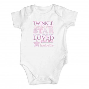 Twinkle Girls 0-3 Months Baby Vest