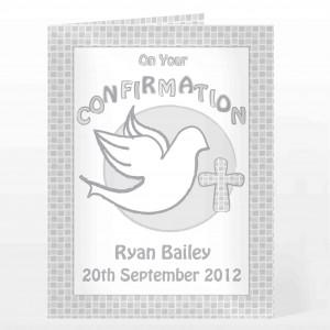 Confirmation Card-Grey