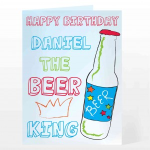 Beer King Card