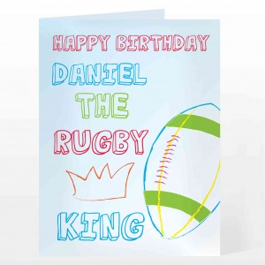Rugby King Card