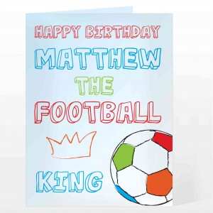 Football King Card