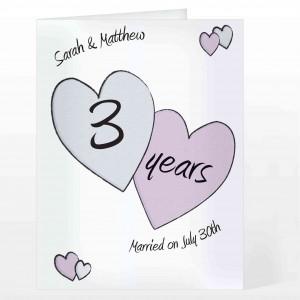 Perfect love Anniversary Card