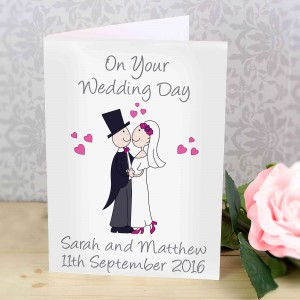 Cartoon Couple Card