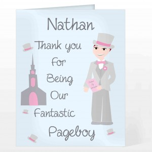 Fabulous Pageboy Card