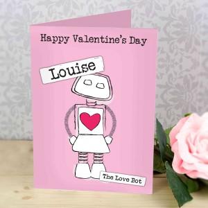 Love Bot Card