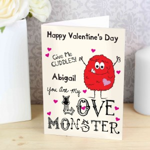 Love Monster Card