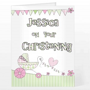 Whimsical Pram Card