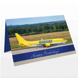 Airliner Yellow Card