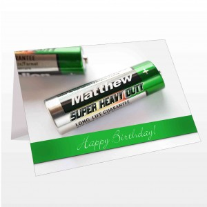 Batteries Card