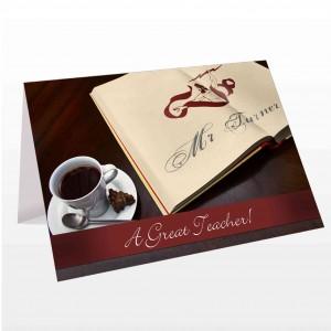Book Illustration Card