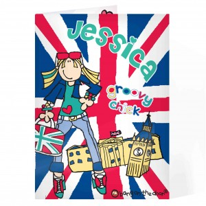 Bang on the Door Union Jack Card