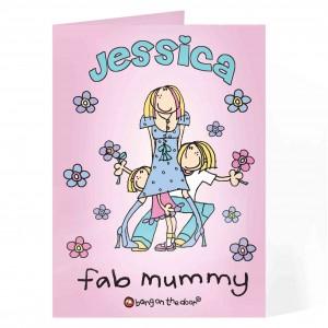 Bang on the Door Fab Mum Card