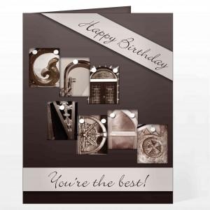 Affection Art Grandad Card