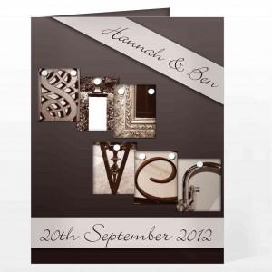 Affection Art Silver Card