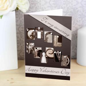 Affection Art Girlfriend Card