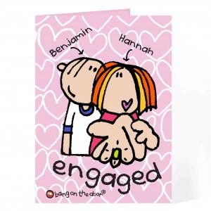 BOTD Engaged card