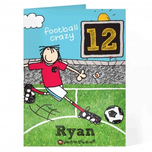 Bang On The Door Football Crazy Age card