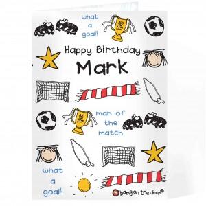 Bang On The Door Football Items Card