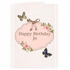 Delicate Butterfly Card