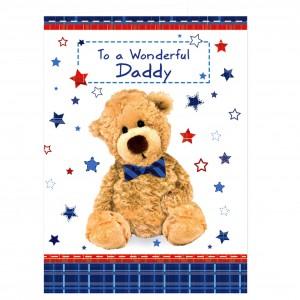 Teddy Bow Tie Card