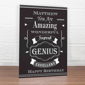 Vintage Typography Card