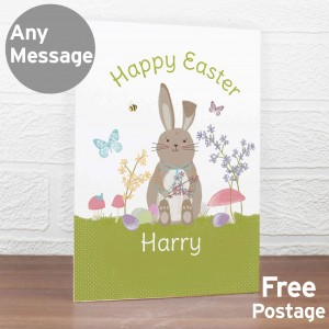 Easter Meadow Bunny Card