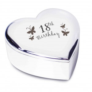 18th Butterflies Heart Trinket