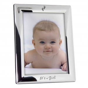 Its a Girl 5x7 Photo Frame
