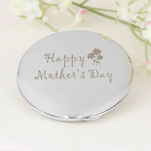 Happy Mother's Day Round Compact