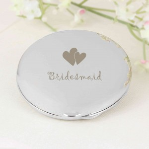 Bridesmaid Round Compact