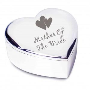 Mother Of Bride  Heart Trinket