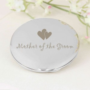Mother of Groom Round Compact