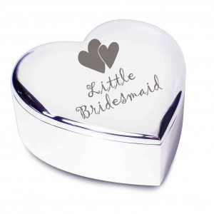 Little Bridesmaid Heart Trinket