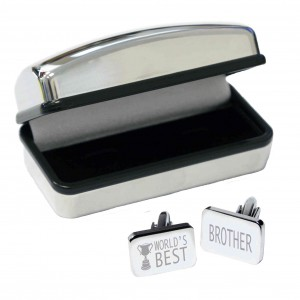 World's Best Brother Cufflinks