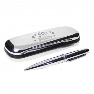 50th Birthday Pen & Box