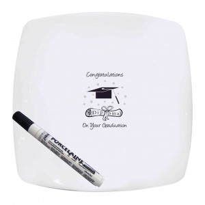 Graduation Message Plate