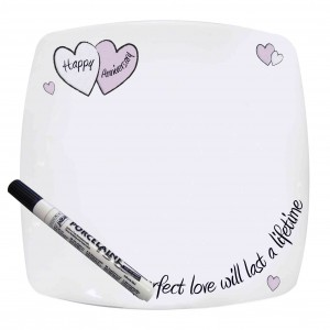 Perfect Love Ann Message Plate