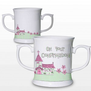 Pink Confirmation Church Loving Mug