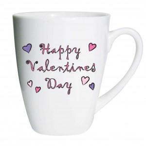 Hapy Valentines Day Latte Mug