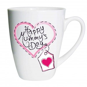Heart Stitch Happy Mummy's Day Latte Mug