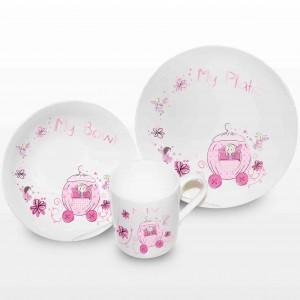 Pumpkin Fairy Breakfast Set