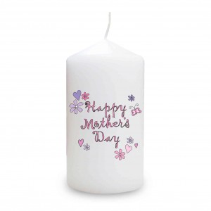Happy Mother's Day Candle