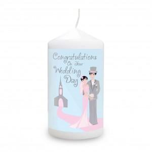 Fabulous Wedding Candle