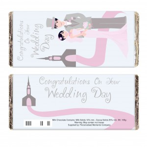 Fabulous Wedding Milk Chocolate Bar