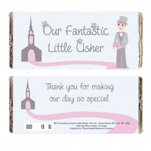 Fabulous Little Usher Milk Chocolate Bar