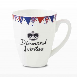 Diamond Jubilee Latte Mug